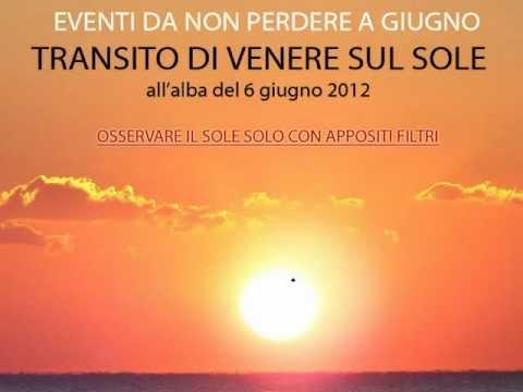 Il cielo di Giugno 2012, costellazioni, pianeti, eventi celesti ed il Transito di Venere.
