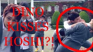 getlinkyoutube.com-[Dino Kisses Hoshi?] Part 6: What You Don't Notice In Mansae Part Switch Ver.