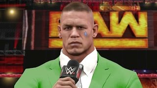 getlinkyoutube.com-WWE 2K17 Story - John Cena Leaves WWE & A New Era Begins - Ep.33