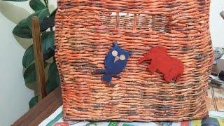 getlinkyoutube.com-Gazeteden oyuncak sepeti