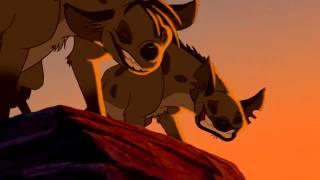 The Lion King   Hyenas Chase Simba