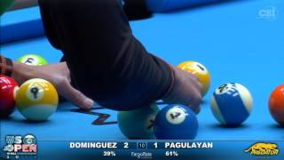 getlinkyoutube.com-2016 US Open 10-Ball: Oscar Dominguez vs Alex Pagulayan