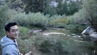getlinkyoutube.com-Rainbow trout fishing, Bishop Creek