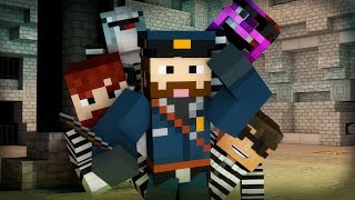 getlinkyoutube.com-Minecraft Mini-Game: COPS N ROBBERS! (SGT MUFFLEBUNS & THE CARROT TOPPED SMUDGEN) /w Facecam