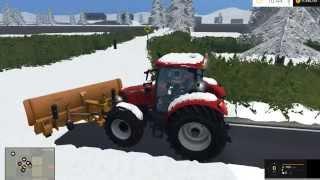 getlinkyoutube.com-Farming simulator 2015 mods - Snow plowing