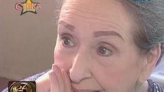 """24 Oras: Gloria Romero, napaiyak habang pinapanood ang mga eksena sa """"Forever"""""""