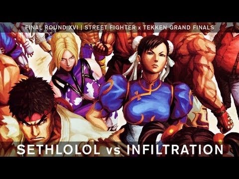 Sethlolol vs Infiltration - Street Fighter x Tekken Ver. 2013 - Final Round XVI Grand Finals