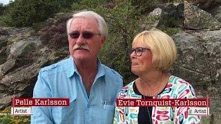 Evie och Pelle sjunger för Dagens läsare