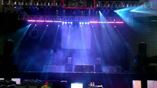 DJ Times Main Stage Show Floor Chauvet Light Test.3gp