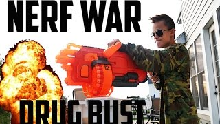 getlinkyoutube.com-Nerf War: Drug Bust