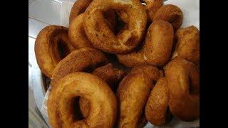 Biscoito frito de farinha de trigo