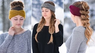 getlinkyoutube.com-3 Easy Headband Hairstyles | Cute Girls Hairstyles