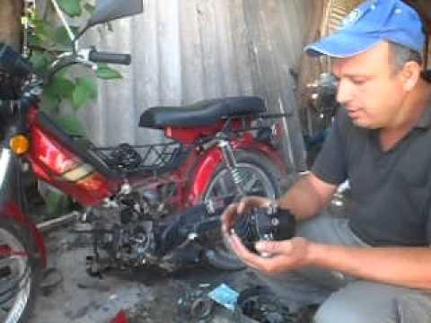 mecanica  shineray , 50cc para 100cc mecanica da moto