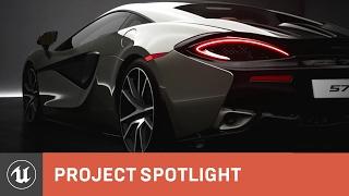 getlinkyoutube.com-McLaren 570S UE4 Cinematic Trailer | Project Spotlight | Unreal Engine