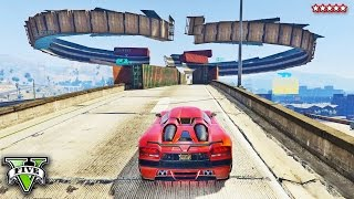 getlinkyoutube.com-GTA 5 Online BEST WALL RIDE RACES EVER!! Taking Wall Riding TO THE EXTREME!! - GTA 5 Funny Moments