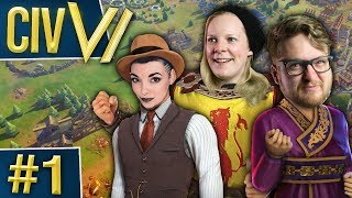 Civ VI: Triple Threat #1 - Ding, Ding!