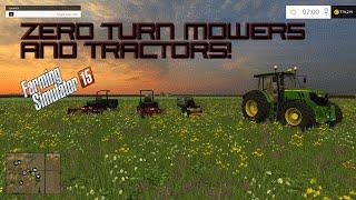 getlinkyoutube.com-Farming Simulator 2015 Mods- Zero Turn Mowers, Kenworth Hauling, and John Deers!