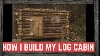 HOW BILLY BUILT HIS LOG CABIN!