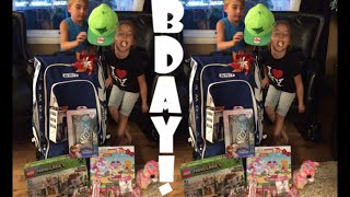 getlinkyoutube.com-Birthday Presents For The Twins!
