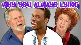 getlinkyoutube.com-Elders React to Why You Always Lying Vine Compilation