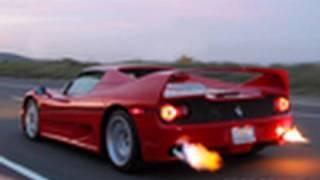 getlinkyoutube.com-Ferrari F50 SHOOTING FLAMES-Preview Video