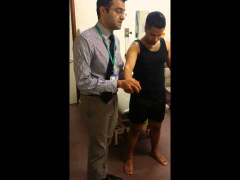 How to test Radial Nerve