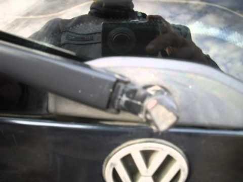Омыватель заднего стекла, ремонт омывателя заднего стекла, Vw passat b3