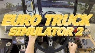 getlinkyoutube.com-Euro Truck Simulator 2 Triple monitor Gameplay