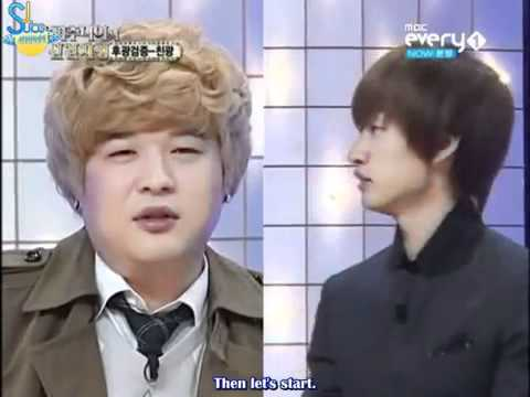 ShinDong Confess that he awkward with donghae..