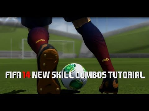 FIFA 14 New Skill Combos Tutorial