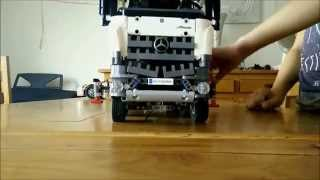 getlinkyoutube.com-Lego technic 42043 - presentation and speed building