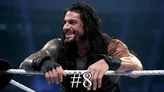 getlinkyoutube.com-My Roman Reigns Top 10 Spears