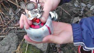 getlinkyoutube.com-Про газовую горелку за 7$ и походный чайник