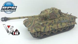 getlinkyoutube.com-VS Tank 1/24th Panzer VI King Tiger - Unboxing and First Run!
