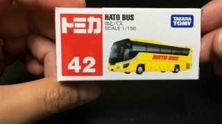getlinkyoutube.com-【動画】はとバス開封 トミカ TAKARA TOMY TOMICA HATO BUS Unboxing