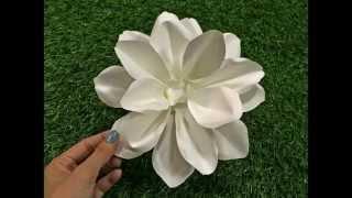 getlinkyoutube.com-วิธีทำดอกไม้กระดาษ - มะลิ