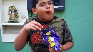 getlinkyoutube.com-Bryan Mena Takis Fuego 2 minute Eating Challenge