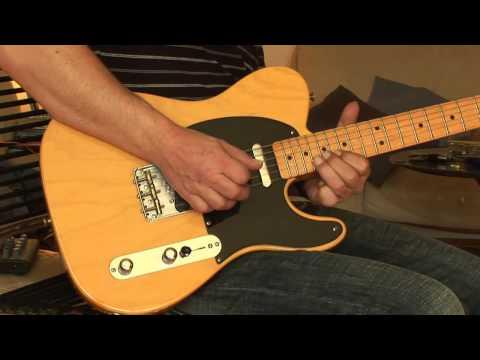 1964 Fender Deluxe Reverb + 1999 Fender 52 Vintage Telecaster Part1