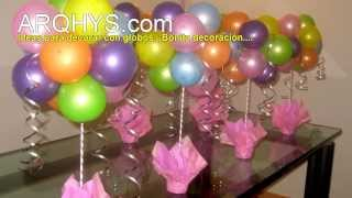 getlinkyoutube.com-Ideas para decorar con globos