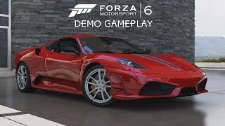 getlinkyoutube.com-Forza Motorsport 6 Demo (60 FPS) - Ferrari 430 Scuderia @ Yas Marina Night Race Gameplay