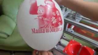 getlinkyoutube.com-Печать на шарах станок МПШ - 05 printing balloons