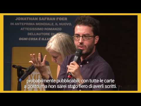 Jonathan Safran Foer presenta
