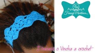 getlinkyoutube.com-*Como hacer una Diadema o vincha a crochet Facilmente*
