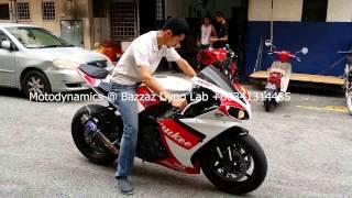 getlinkyoutube.com-Yamaha R1 Bazzaz ZFi Dyno & Termignoni Single Exhaust - Motodynamics Technology Malaysia