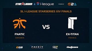 Fnatic vs. ex-Titan - Map 1 - Cache (SL i-League StarSeries XIV LAN FINALS)