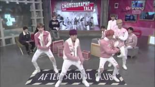 getlinkyoutube.com-[151201] After School Club - ROMEO dancing BTS, EXO, GOT7 & RV