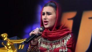 getlinkyoutube.com-Afghan Star Season 11 - Top 11 - Ziba Hamidi / فصل یازدهم ستاره افغان - 11 بهترین - زیبا حمیدی