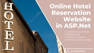 getlinkyoutube.com-Online Hotel Reservation Website Project in ASP.Net with Sql Server - ProjectsforEveryone.com