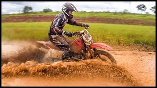 getlinkyoutube.com-Velocross No Barro Com Pista Alagada | Coitada Das Motos kkkkkk [ Salves no Final ]