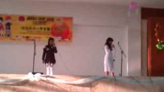 getlinkyoutube.com-KAGEKIDAN INFINITY (SAE AND YUKI cover) -ALC95 (cover AKB48) AT JAPAN FAIR UNSADA 12feb 2012